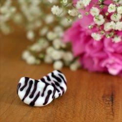 Statementohrringe Zebra Luna